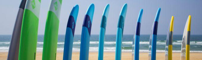 messanges surf school surfboards