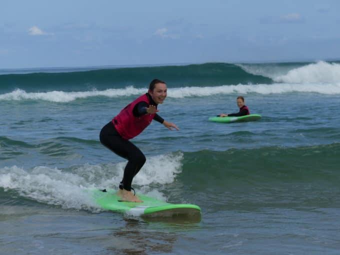 messanges surf school cours de surf
