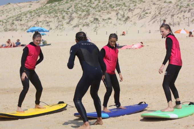 messanges surf school cours de surf premium